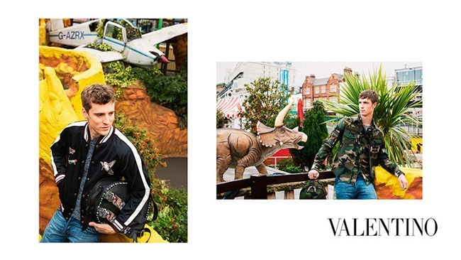 CAMPAIGN George Barnett & Egon Van Praet for Valentino Spring 2016 by David Bailey. Karl Templer, www.imageamplified.com, Image Amplified (1)