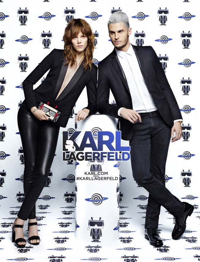 CAMPAIGN Baptiste Giabiconi & Freja Beha Erichsen for Karl Lagerfeld Spring 2016 by Karl Lagerfeld. www.imageamplified.com, image Amplified (1)