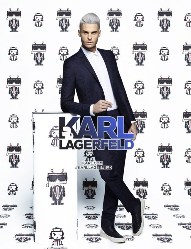 CAMPAIGN Baptiste Giabiconi & Freja Beha Erichsen for Karl Lagerfeld Spring 2016 by Karl Lagerfeld. www.imageamplified.com, image Amplified (3)