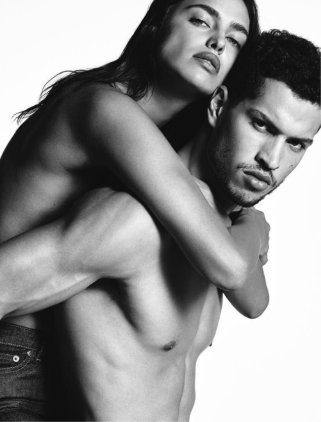 CAMPAIGN Irina Shayk & Chris Moore for Givenchy Jeans Spring 2016 by Luigi & Iango. Carine Roitfeld, www.imageamplified.com, Image Amplified (2)