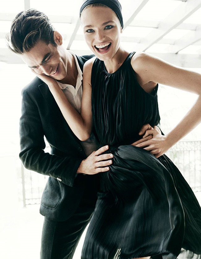 CAMPAIGN Jon Kortajarena & Anna Mila Guyenz for Massimo Dutti Spring 2016 by Mario Testino. www.imageamplified.com, Image Amplified (11)