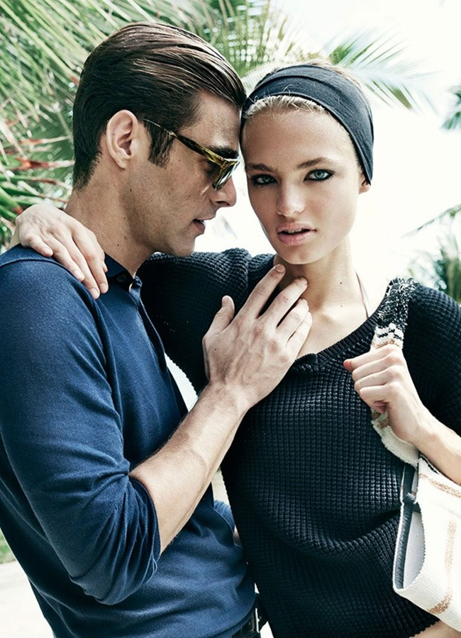 CAMPAIGN Jon Kortajarena & Anna Mila Guyenz for Massimo Dutti Spring 2016 by Mario Testino. www.imageamplified.com, Image Amplified (3)