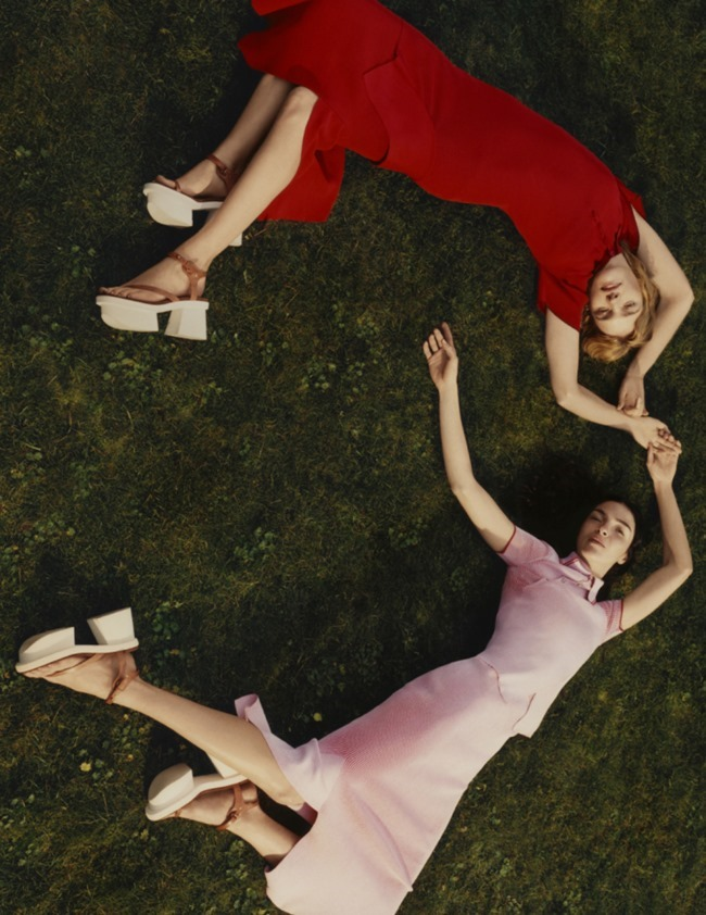 CAMPAIGN Mariacarla Boscono & Natalia Vodianova for Stella McCartney Spring 2016 by Harley Weir. www.imageamplified.com, Image Amplified (1)
