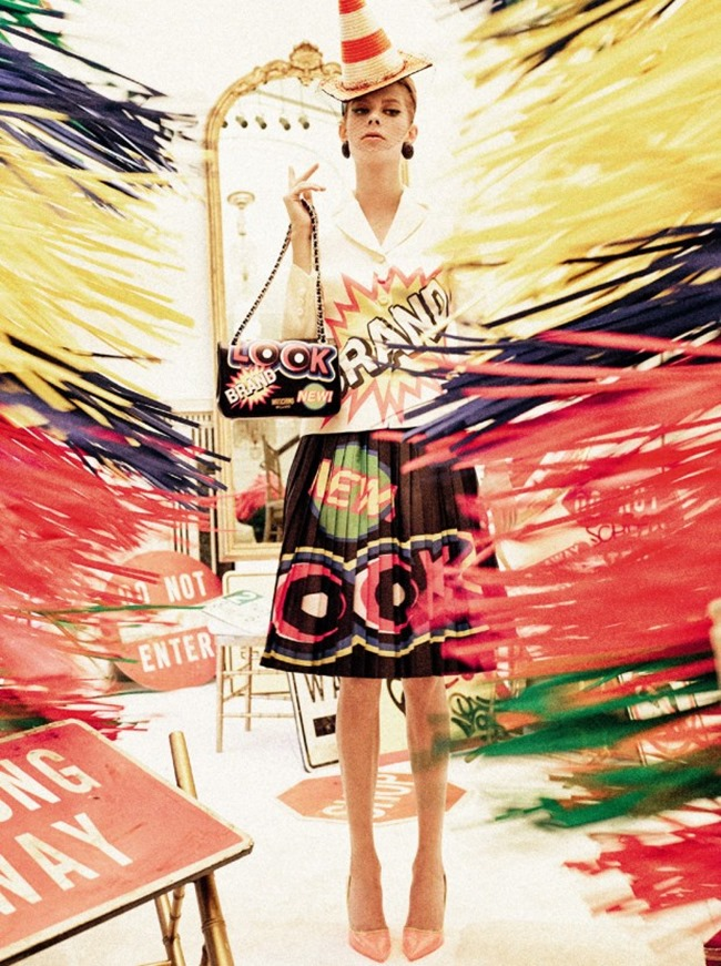 CAMPAIGN Moschino Spring 2016 by Steven Meisel. Carlyne Cerf De Dudzeele, www.imageamplified.com, Image Amplified (5)