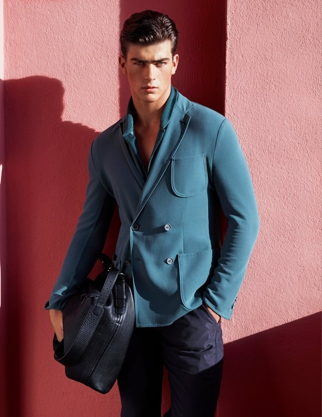 CAMPAIGN Zandre du Plessis for Giorgio Armani Spring 2016 by Solve Sundsbo. Beat Bolliger, www.imageamplified.com, Image Amplified (1)