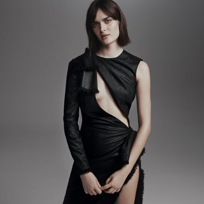PORTER MAGAZINE Sam Rollinson by Sarah Piantadosi. Ondine Azoulay, Spring 2016, www.imageamplified.com, Image Amplified (4)