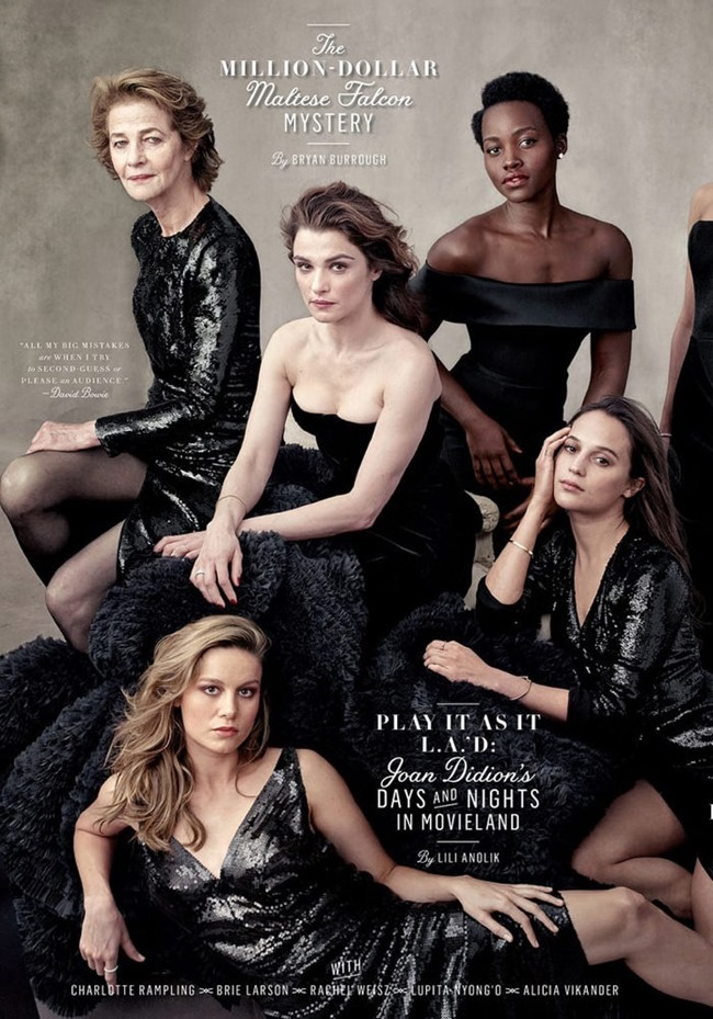 VANITY FAIR Hollywood Issue by Annie Leibovitz. Jessica Diehl, Spring 2016, www.imageamplified.com, Image Amplified (6)