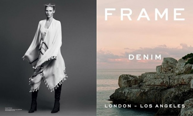 CAMPAIGN Lara Stone for Frame Denim Spring 2016 by Erik Tortensson. George Cortina, www.imageamplified.com, Image Amplified (1)
