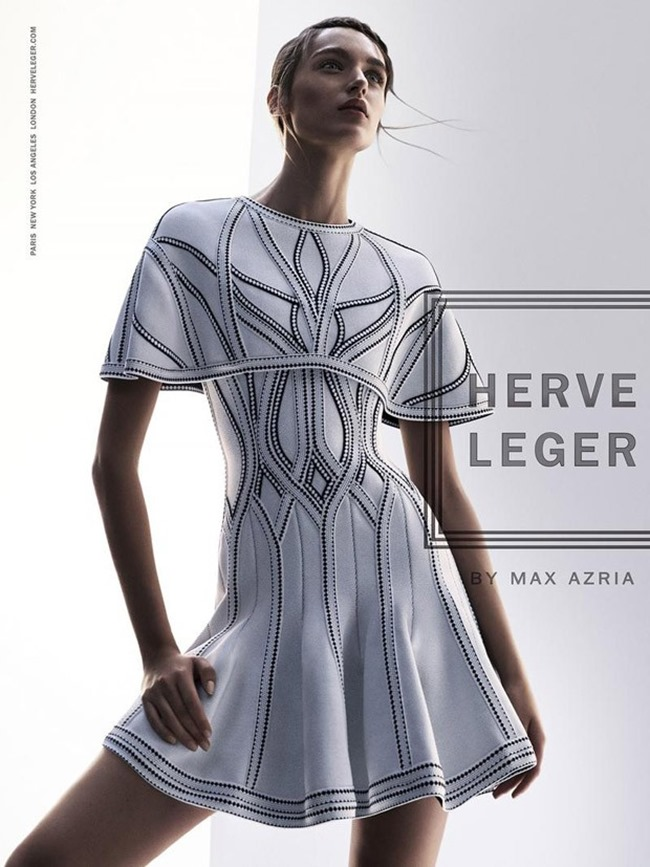 CAMPAIGN Stasha Yatchuk for Herve Leger by Max Azria Spring 2016 by Boe Marion. Elizabeth Cabral, www.imageamplified.com, Image Amplified (2)