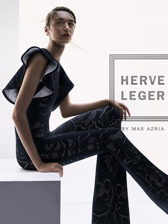 CAMPAIGN Stasha Yatchuk for Herve Leger by Max Azria Spring 2016 by Boe Marion. Elizabeth Cabral, www.imageamplified.com, Image Amplified (4)
