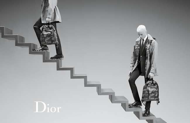 CAMPAIGN Baptiste Giabiconi for Dior Spring 2016 by Karl Lagerfeld. www.imageamplified.com, Image Amplified (1)