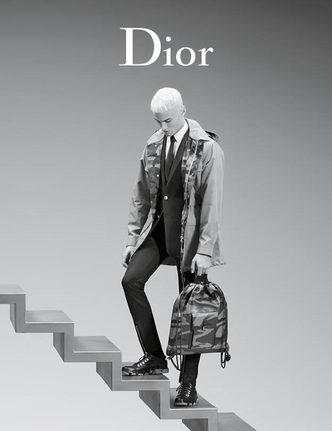 CAMPAIGN Baptiste Giabiconi for Dior Spring 2016 by Karl Lagerfeld. www.imageamplified.com, Image Amplified (6)