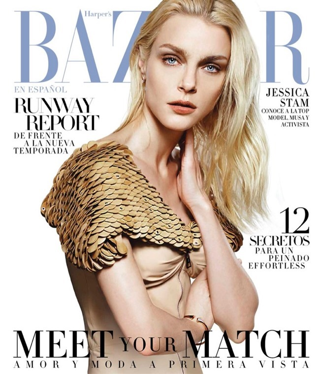HARPER'S BAZAAR MEXICO Jessica Stam by Matallana. Anna Katsanis, February 2016, www.imageamplified.com, Image amplified (1)