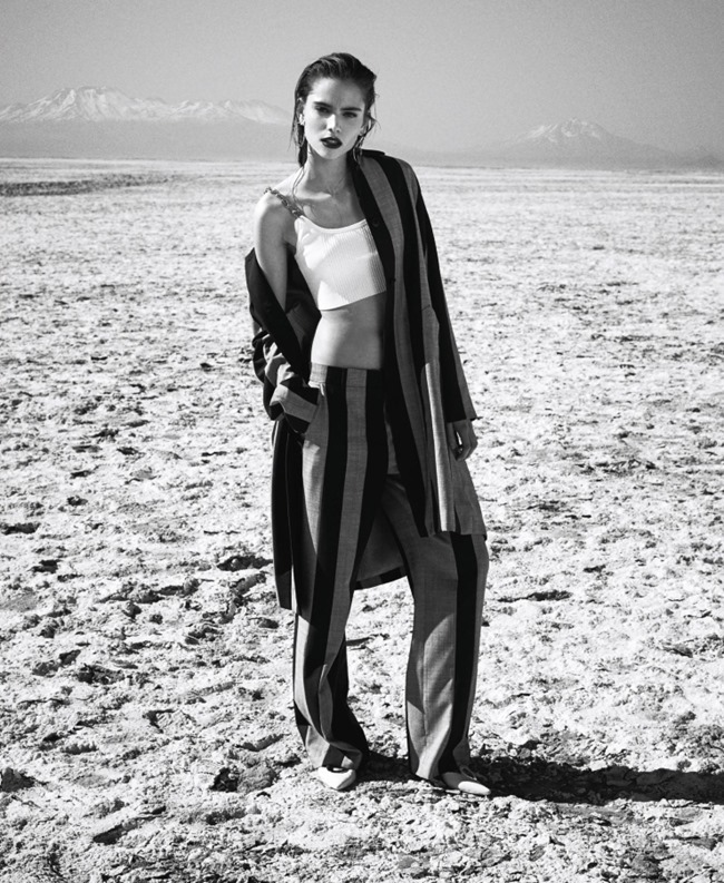 HARPER'S BAZAAR MAGAZINE Romy Schonberger by Nathaniel Goldberg. Tom van Dorpe, March 2016, www.imageamplified.com, Image Amplified (2)