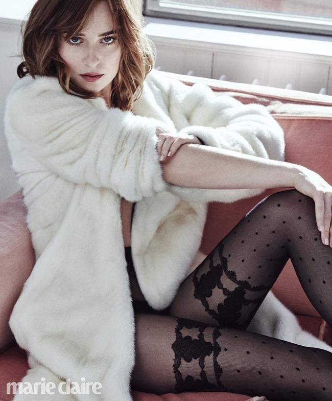 MARIE CLAIRE MAGAZINE Dakota Johnson by Txema Yeste. March 2016, www.imageamplified.com, Image Amplified (2)