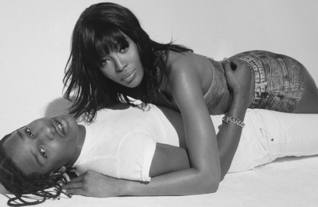 POP MAGAZINE Naomi Campbell & A$AP Rocky by Brianna Capozzi. Stevie Dance, Spring 2016, www.imageamplified.com, image amplified (3)