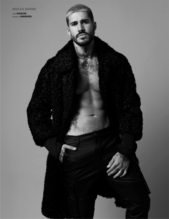 REFLEX HOMME MAGAZINE Fabian Domenech by Joseph Sinclair. Callum Vincent, February 2016, www.imageamplified.com, image amplified (5)