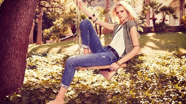 CAMPAIGN Charlene Hogger for Comma Casual Identity Sprign 2016 by Ellen von Unwerth. www.imageamplified.com, Image amplified (3)