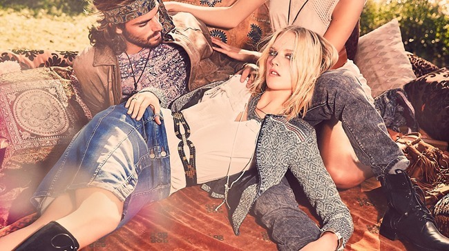 CAMPAIGN Charlene Hogger for Comma Casual Identity Sprign 2016 by Ellen von Unwerth. www.imageamplified.com, Image amplified (5)