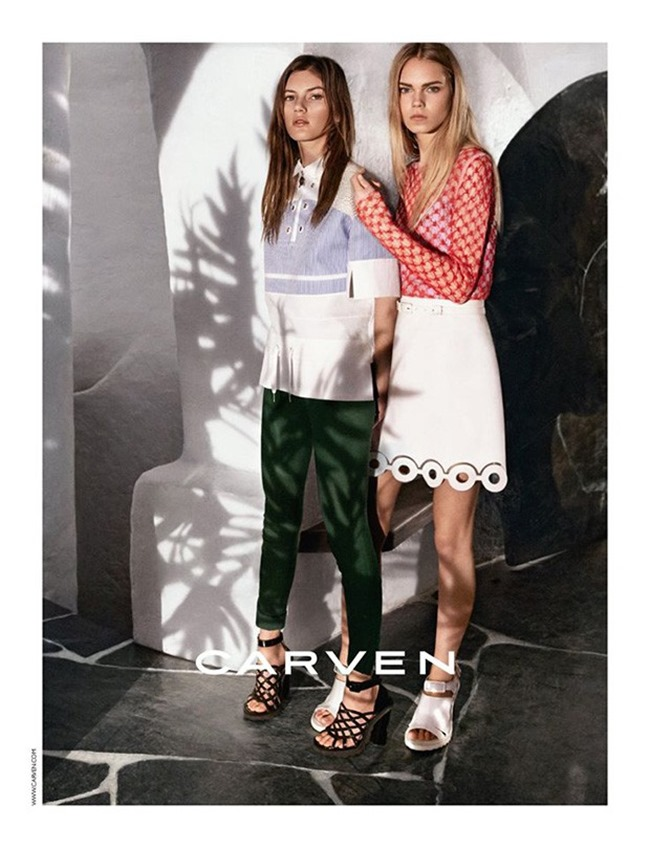 CAMPAIGN Valery Kaufman & Line Brems for CARVEN Spring 2016 by Theo Wenner, www.imageamplified.com, Image amplified (2)