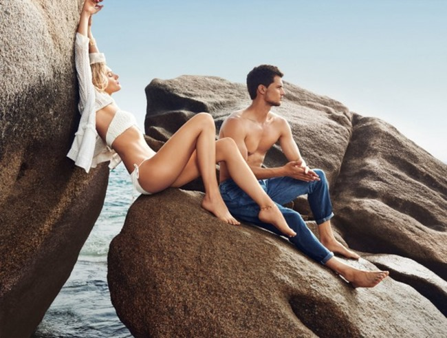 CAMPAIGN Garrett Neff & Lily Donaldson for River Island Spring 2016 by Emma Summerton. Edward Enninful, www.imageamplified.com, Image Amplified (4)