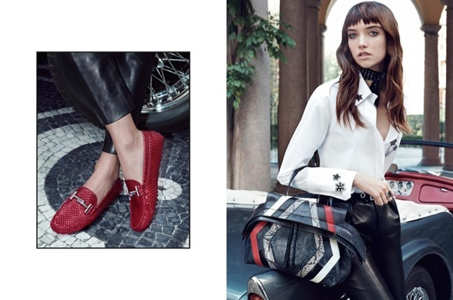 CAMPAIGN Grace Hartzel for Tod's Spring 2016 by Michelangelo di Battista. www.imageamplified.com, Image Amplified (4)