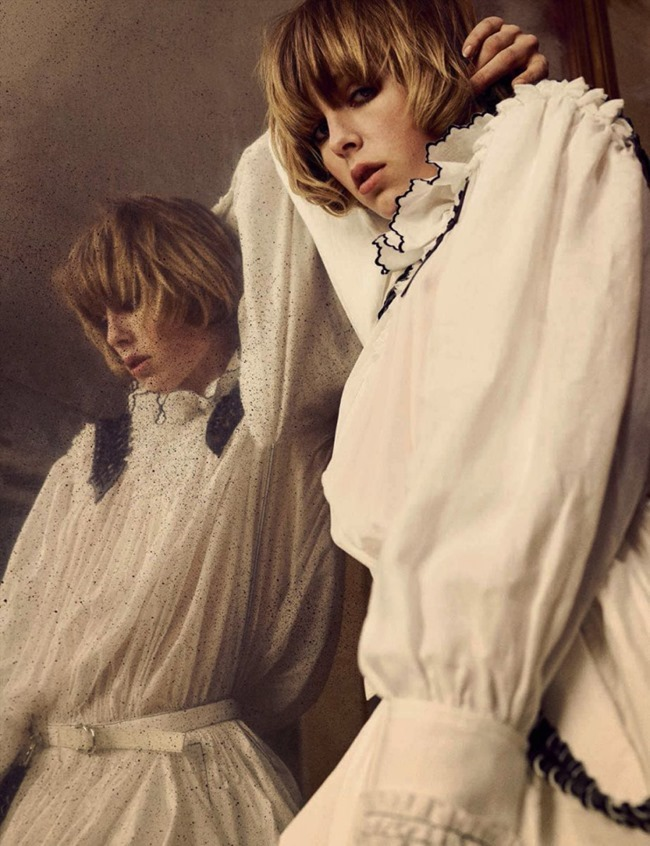 VOGUE GERMANY Edie Campbell by Iango & Luigi. George Cortina, April 2016, www.imageamplified.com, Image Amplified (2)