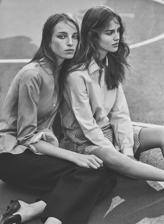 W MAGAZINE Jamilla Hoogenboom & Julia Jamin by Emma Tempest. Ethel Park, March 2016, www.imageamplified.com, Image Amplified (4)