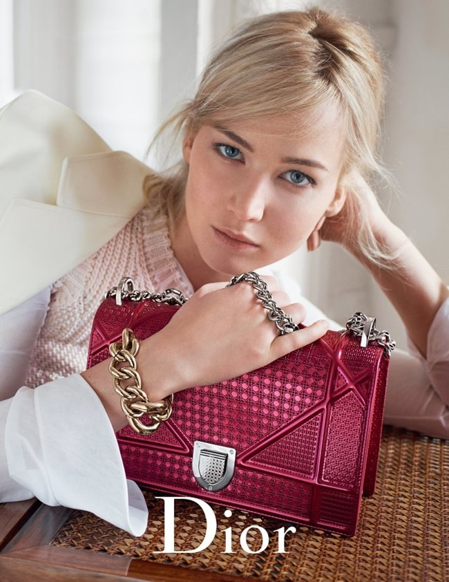 CAMPAIGN Jennifer Lawrence for Dior Handbags Spring 2016 by Mario Sorrenti. www.imageamplified.com, Image Amplified (4)