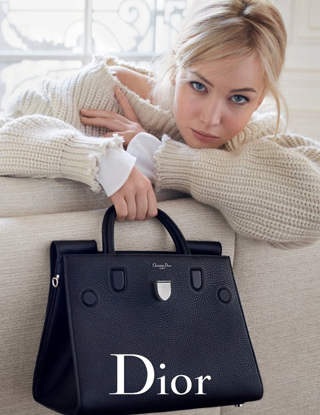 CAMPAIGN Jennifer Lawrence for Dior Handbags Spring 2016 by Mario Sorrenti. www.imageamplified.com, Image Amplified (5)