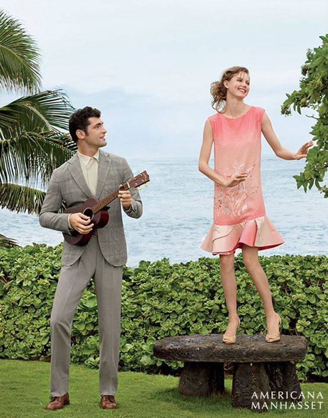 CATALOGUE Sean O'Pry & Lindsey Wixson for Americana Manhasset Spring 2016. www.imageamplified.com, Image Amplified (48)