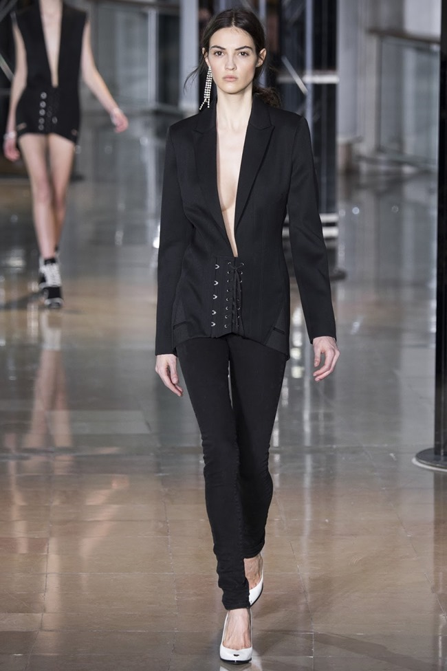 PARIS FASHIONW WEEK Anthony Vaccarello Fall 2016. www.imageamplified.com, Image Amplified (1)