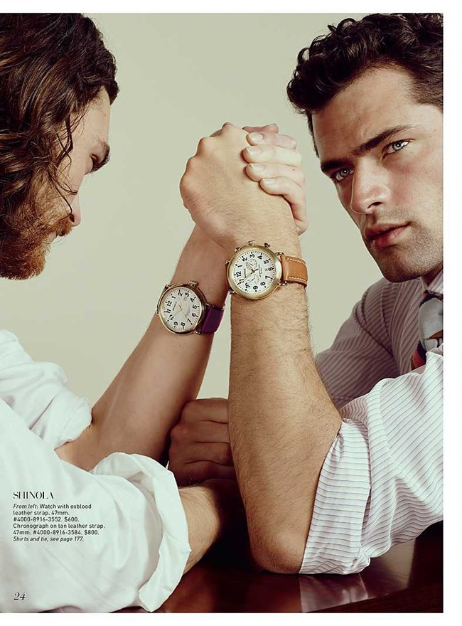 CATALOGUE Sean O'Pry for Saks Fifth Avenue March 2016 by David Slijper. Bill Mullen, www.imageamplified.com, Image Amplified (4)