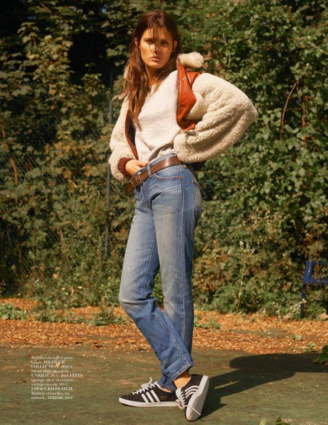 VOGUE PARIS Isabeli Fontana by Scott Trindle. Geraldine Saglio, November 2014, www.imageamplified.com, Image Amplified (1)
