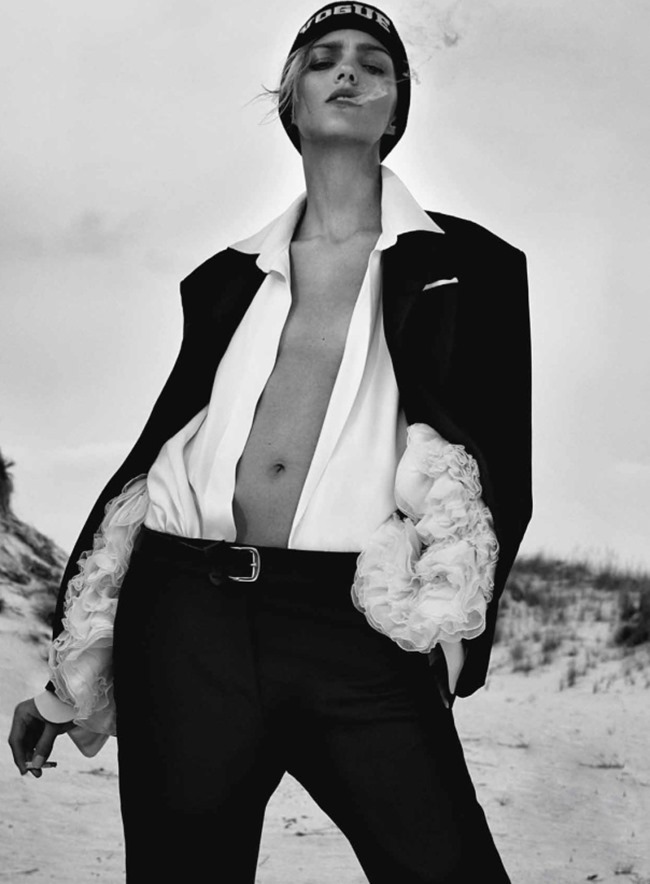 FLAIR MAGAZINE Anja Rubik by Collier Schorr. Sissy Vian, October 2014, www.imageamplified.com, Image amplified (12)