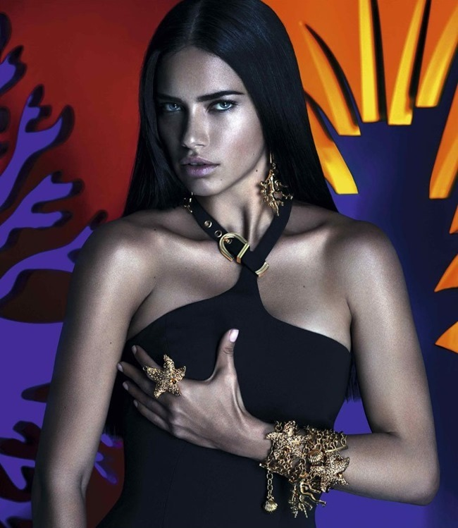 CAMPAIGN Adriana Lima in Versace for Riachuelo by Mert & Marcus. www.imageamplified.com, Image Amplified (6)