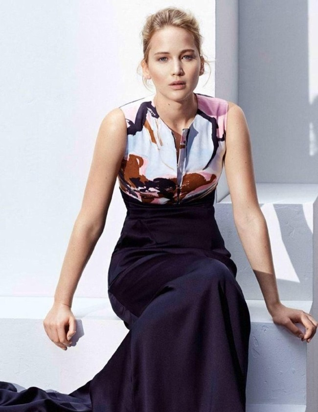 MADAME FIGARO FRANCE Jennifer Lawrence by Thomas Lohr. Simon Robin, November 2014, www.imageamplified.com, Image Amplified (8)
