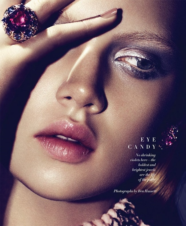 HARPER'S BAZAAR MAGAZINE Holly Rose by Ben Hassett. Simon Robins, December 2014, www.imageamplified.com, Image Amplified (1)