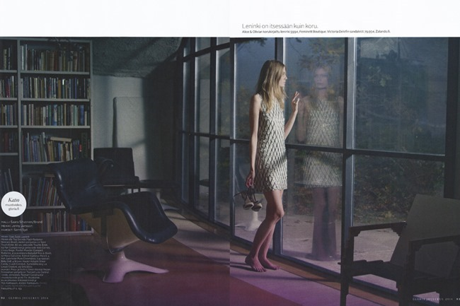 GLORIA MAGAZINE Saara Sihvonen by Miikka Lommi. Mia Dillemuth, Fall 2014, www.imageamplified.com, Image Amplified (6)