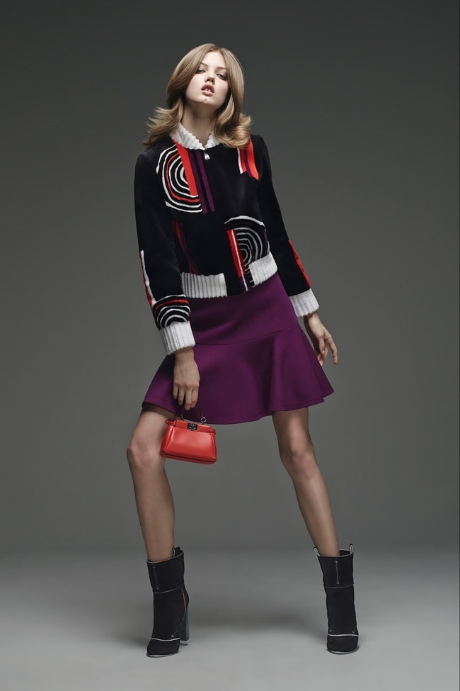 COLLECTION Lindsey Wixson for Fendi Pre-Fall 2015. www.imageamplified.com, Image Amplified (15)