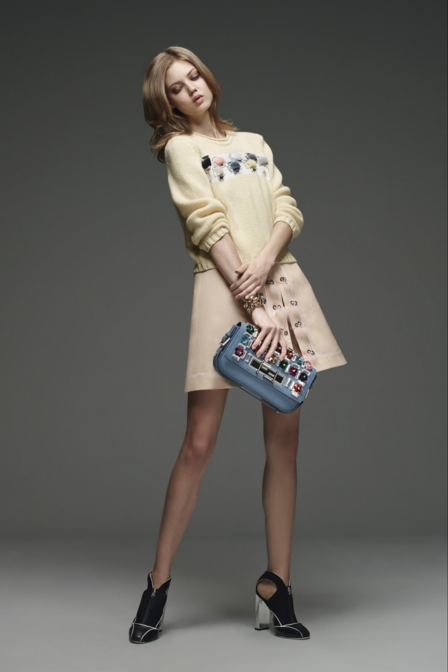 COLLECTION Lindsey Wixson for Fendi Pre-Fall 2015. www.imageamplified.com, Image Amplified (37)