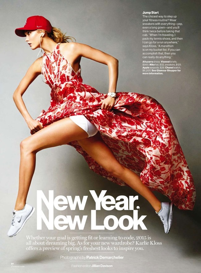 GLAMOUR MAGAZINE Karlie Kloss by Patrick Demarchelier. Jillian Davison, January 2015, www.imageamplified.com, Image Amplified (1)