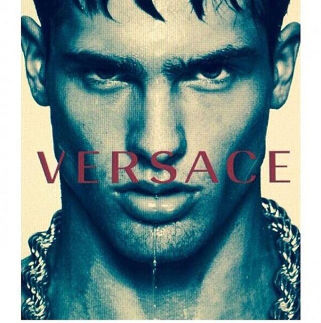 PREVIEW Filip Hrivnak, Alessio Pozzi & Miroslav Cech for Versace Spring 2015 by Mert & Marcus. www.imageamplified.com, Image Amplified (1)