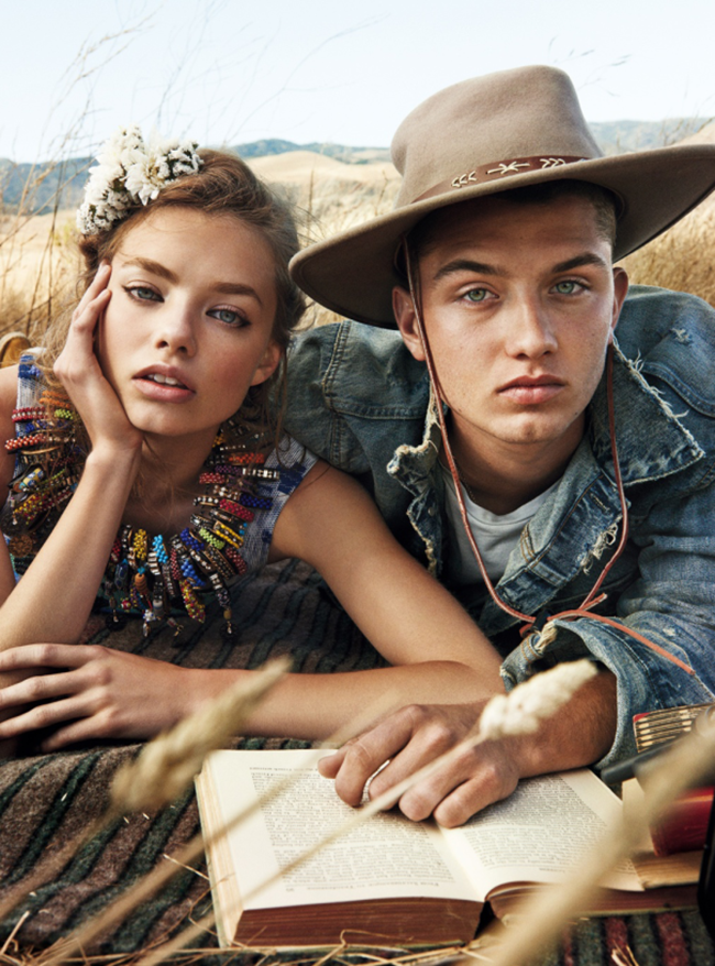 TEEN VOGUE Kristine Froseth & Rafferty Law by Giampaolo Sgura. Brandon Maxwell, January 2015, www.imageamplified.com, Image Amplified (2)