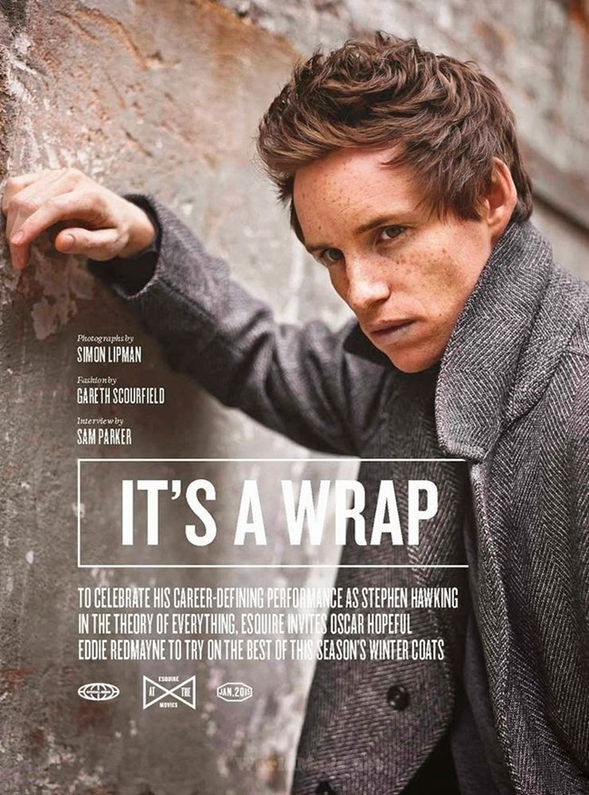 ESQUIRE UK Eddie Redmayne by Simon Lipman. Gareth Scourfield, January 2015, www.imageamplified.com, Image Amplified (1)