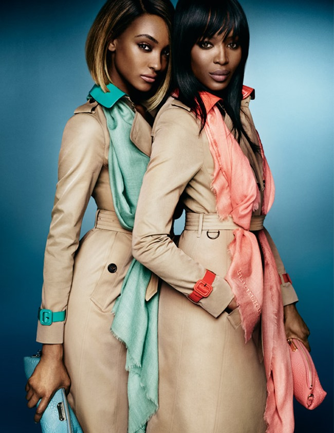 CAMPAIGN Naomi Campbell & Jourdan Dunn for Burberry Spring 2015 by Mario Testino. Christopher Bailey, www.imageamplified.com, Image Amplified (3)