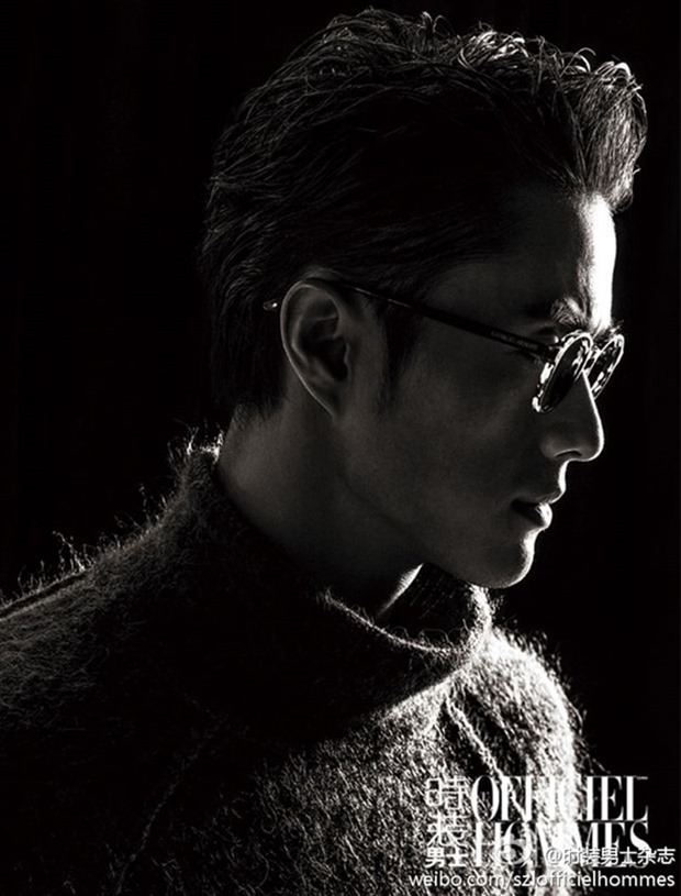 L'OFFICIEL HOMMES CHINA Zhao Lei by Zhang Zi. December 2014, www.imageamplified.com, Image Amplified (2)