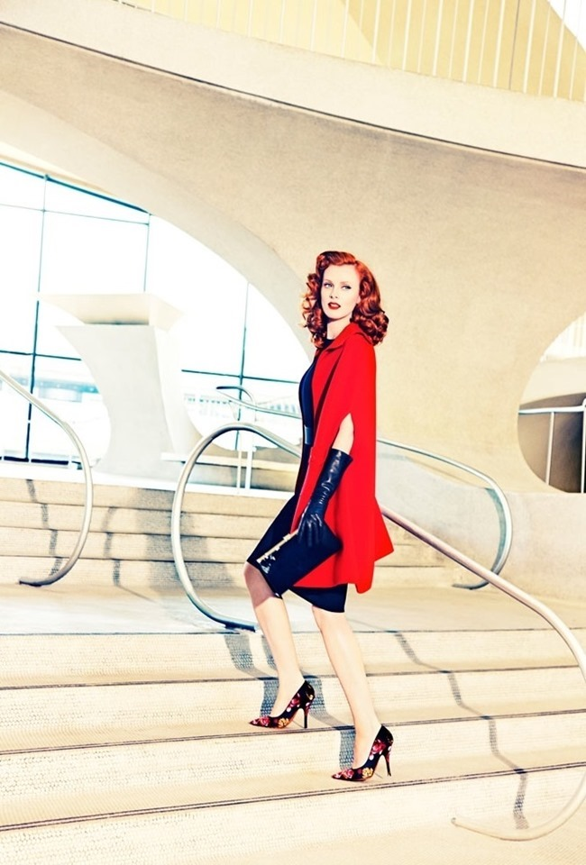 CAMPAIGN Karen Elson for Palter DeLiso Fall 2014 by Ellen von Unwerth. www.imageamplified.com, Image Amplified (6)