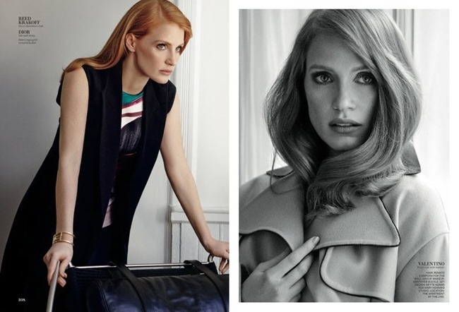 INSTYLE MAGAZINE Jessica Chastain by Giampaolo Sgura. Melissa Rubini, January 2015, www.imageamplified.com, Image Amplified (4)