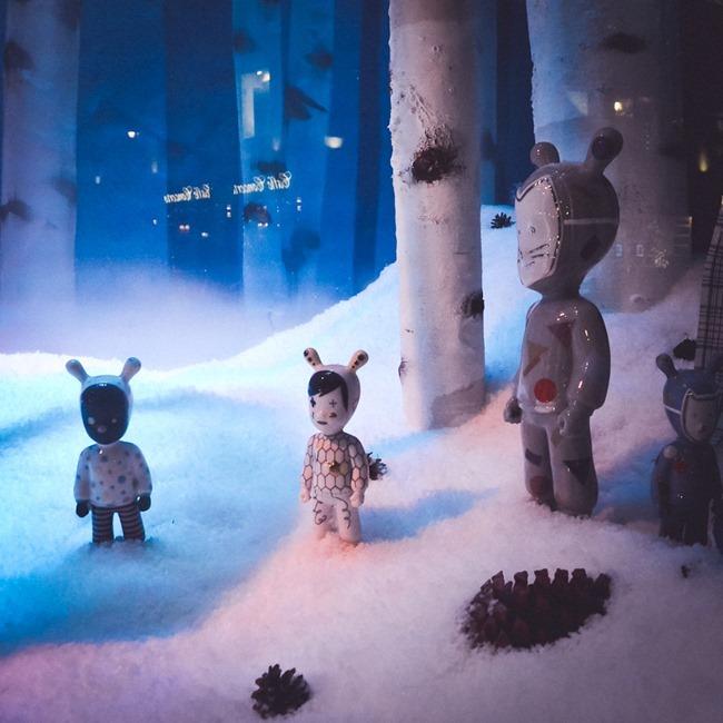 CHRISTMAS IN LONDON Harrods Windows by Troy Wise. Winter 2014, www.imageamplified.com, Image Amplified (10)